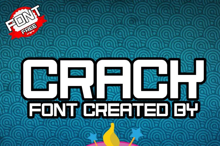 Crack Font