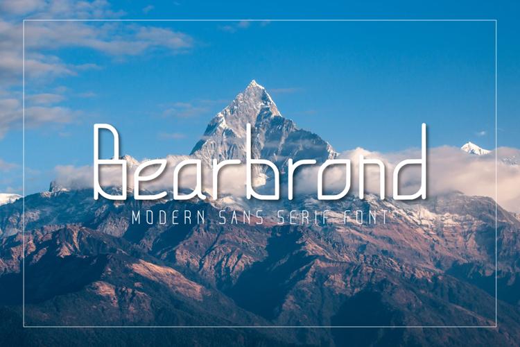 Bearbrond Font