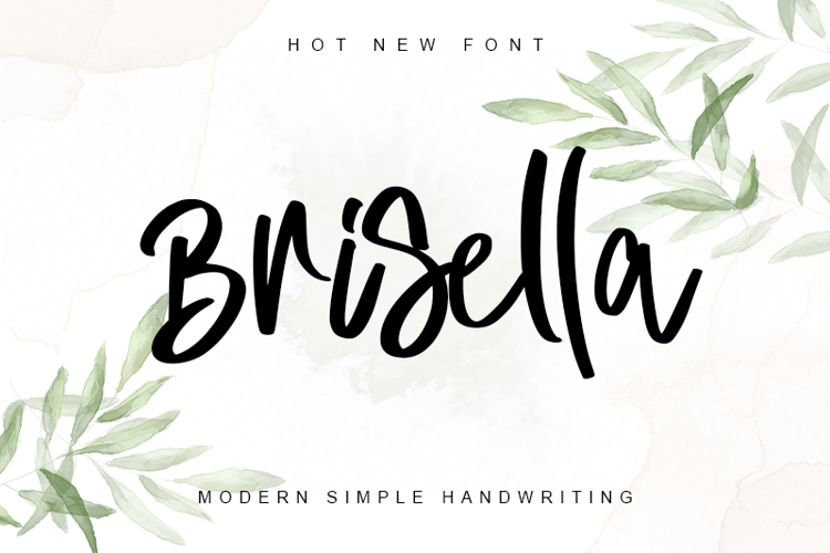 Brisella - Font
