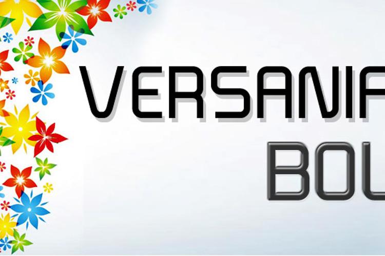 Versaniah_Bold Font