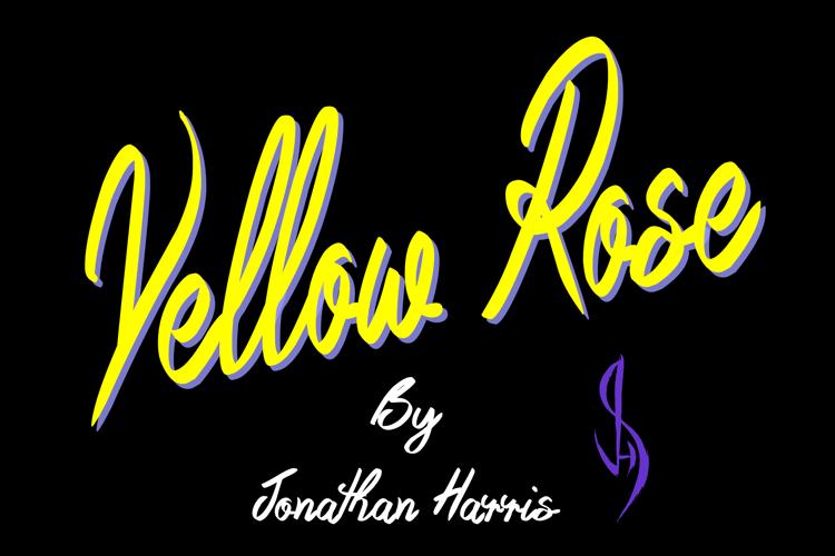 Yellow Rose Font