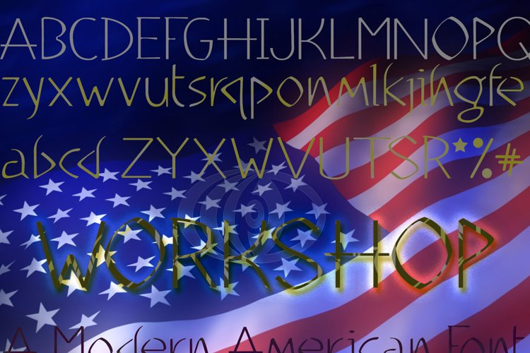 WorkShop Light Font