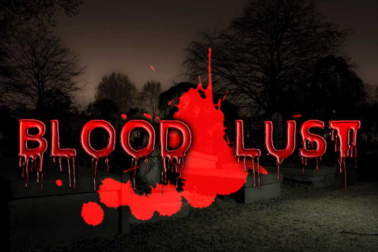 Blood Lust Font