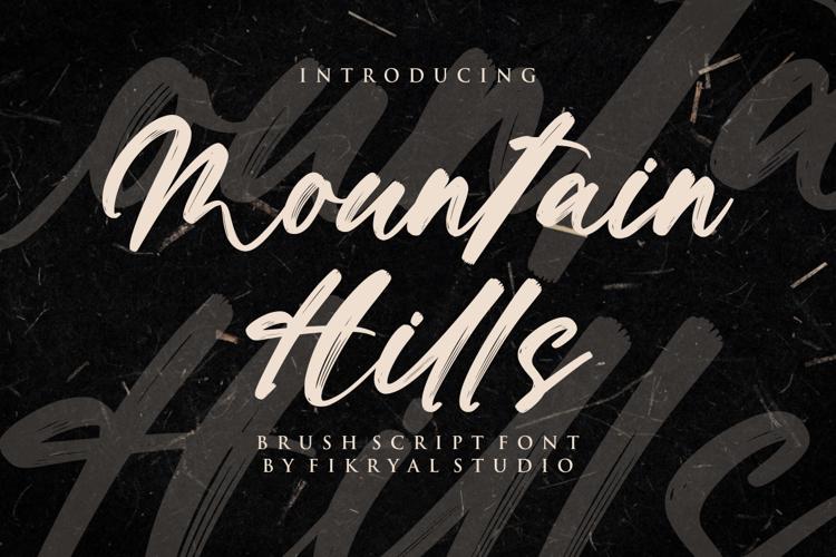 Mountain Hills Font
