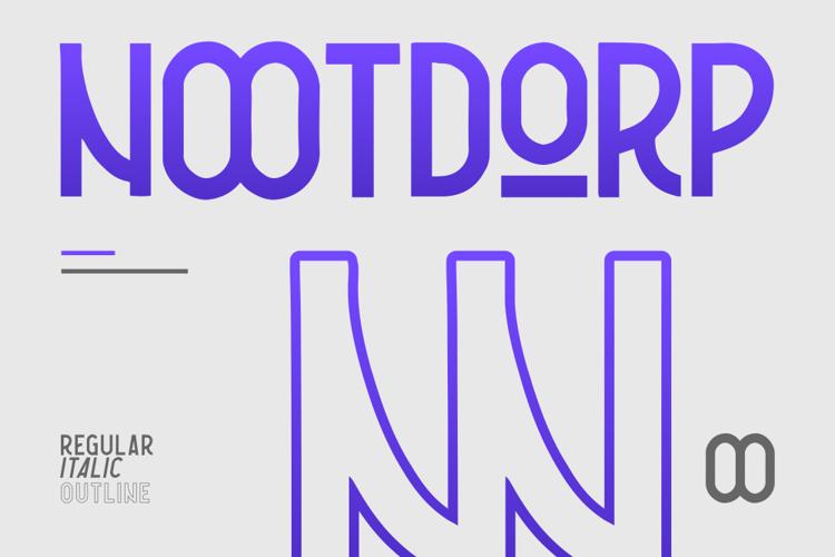 Nootdorp Font
