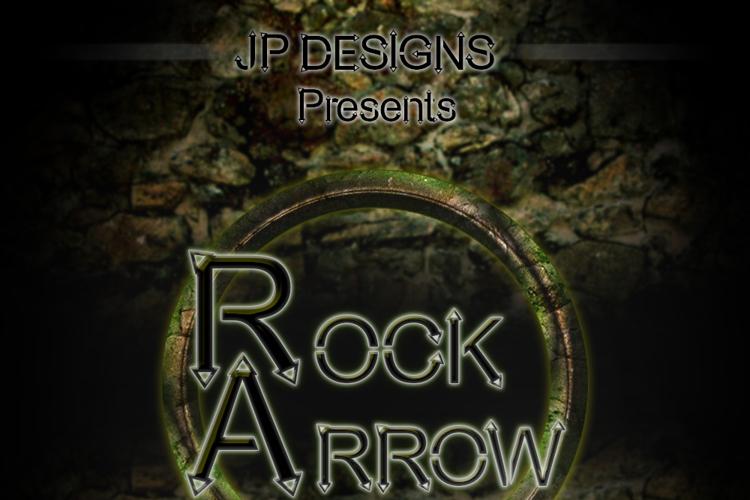 Rock Arrow Font