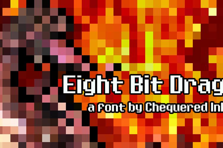 Eight Bit Dragon Font