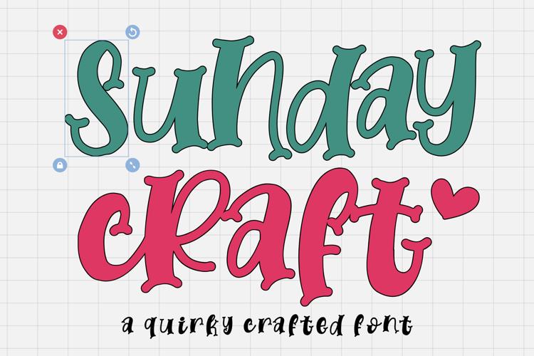 Sunday Craft Font