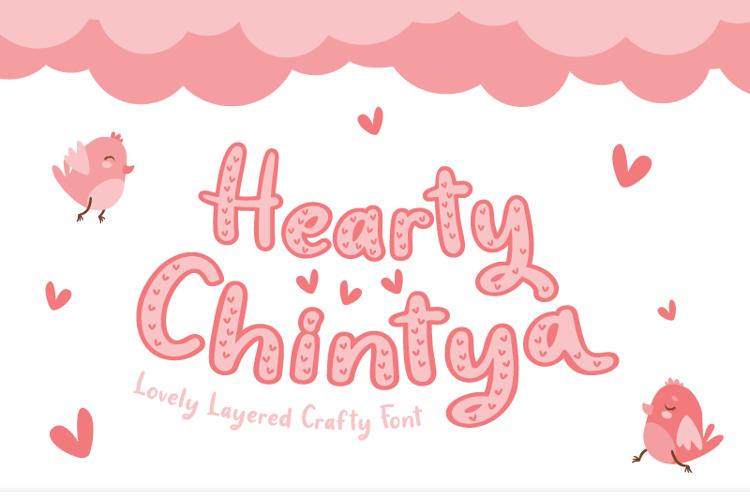 Hearty Chintya Font