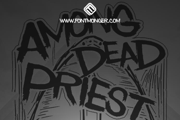 Among Dead Priest Font