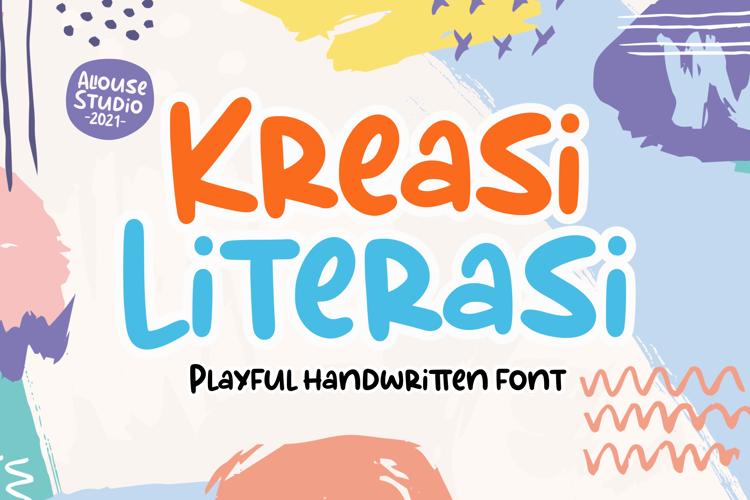 Kreasi Literasi Font
