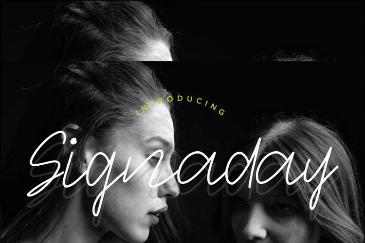 Signaday Font