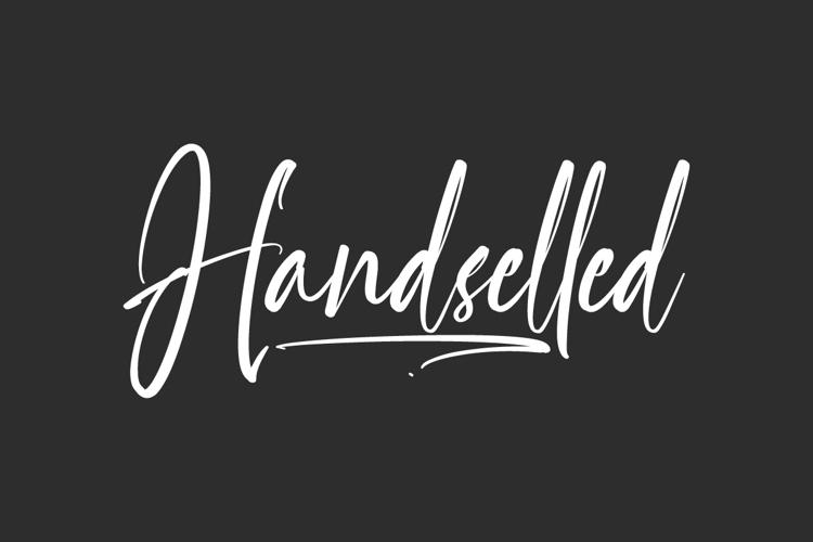 Handselled Font