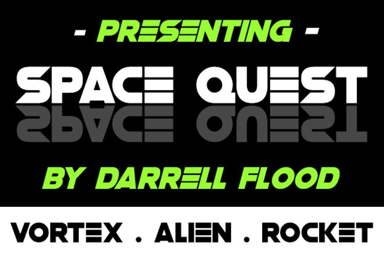 Space Quest Font