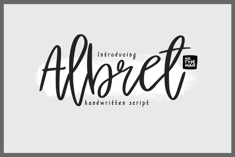 Albret Demo Font