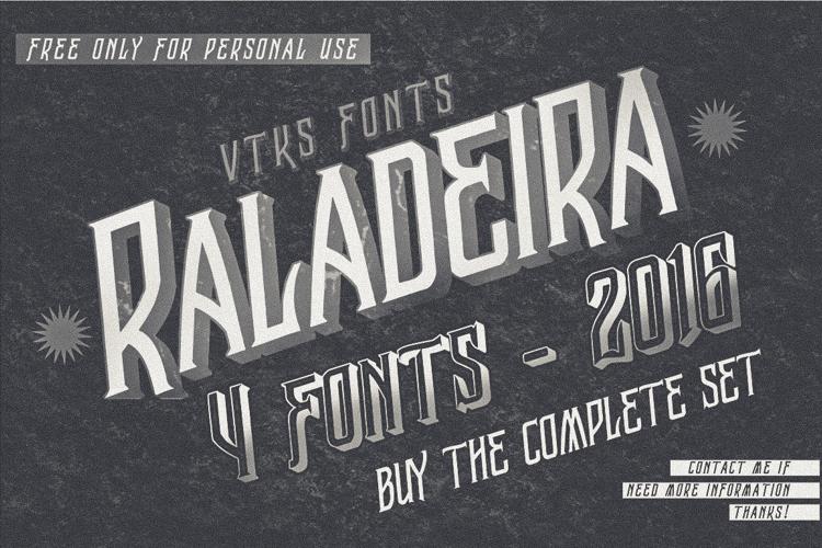 Vtks Raladeira 2 Font