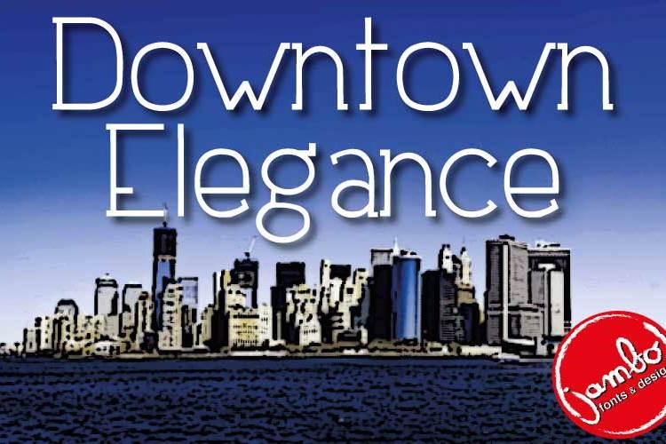 Downtown Elegance Font