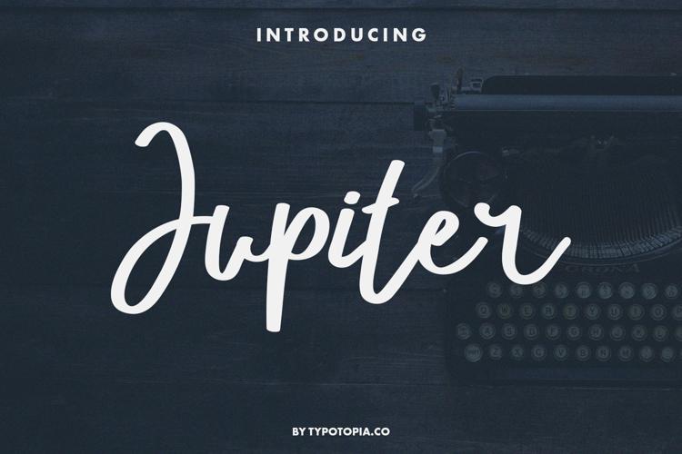 Jupiter Font