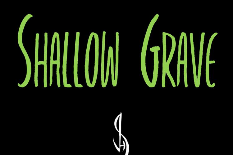 Shallow Grave Font
