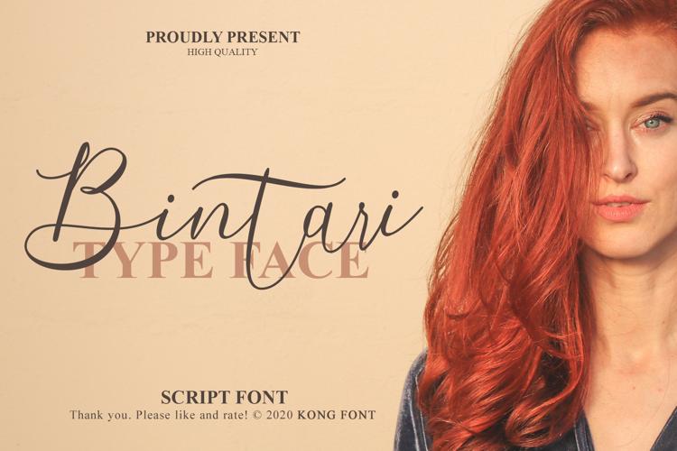 Bintari Font