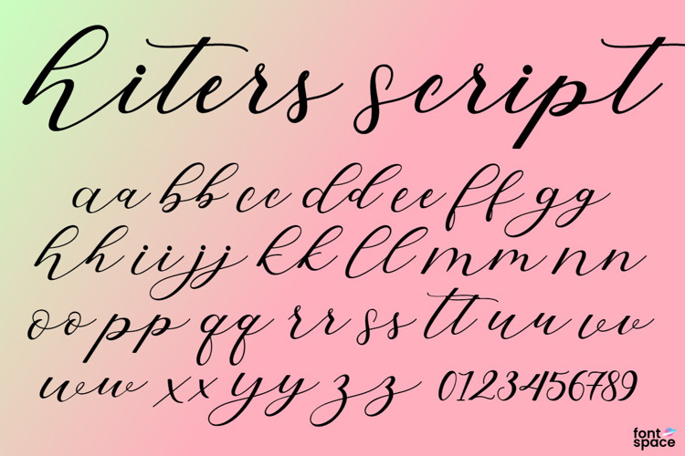 Hiters Script Font