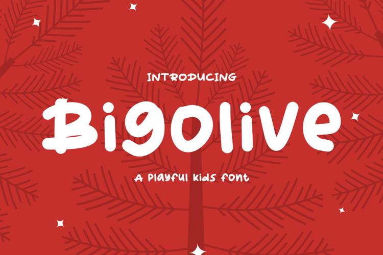 Bigolive Font