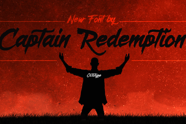 Captain Redemption  Font