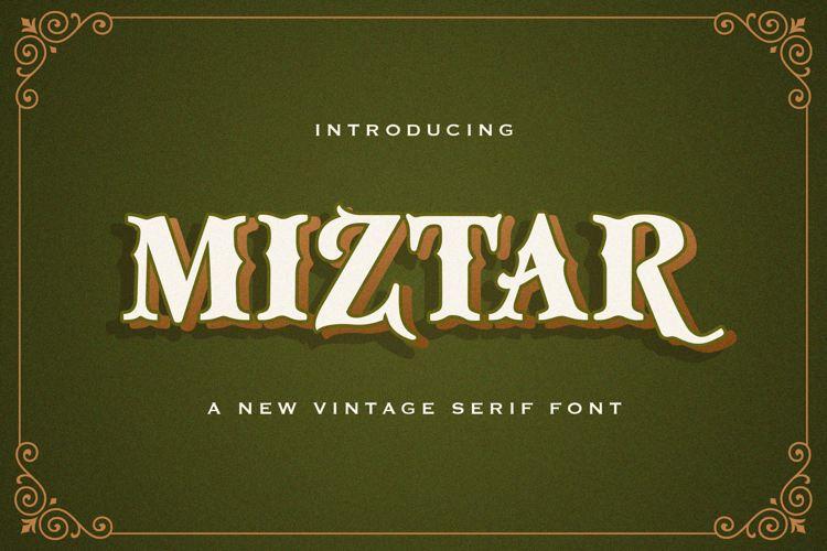 Miztar Font