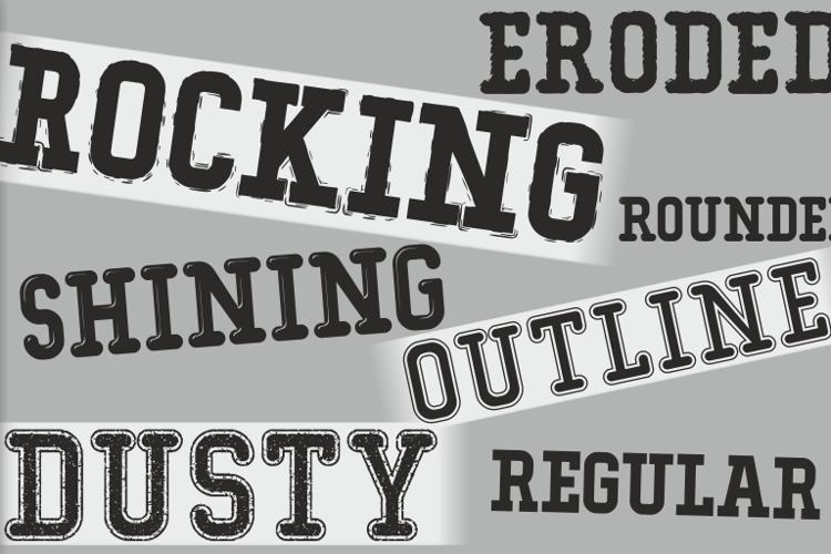Typo College Dusty Demo Font