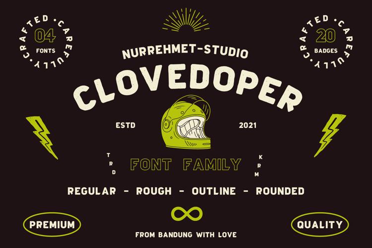 Clovedoper Modern Vintage Font