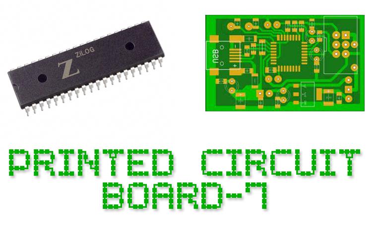 Printed Circuit Board-7 Font