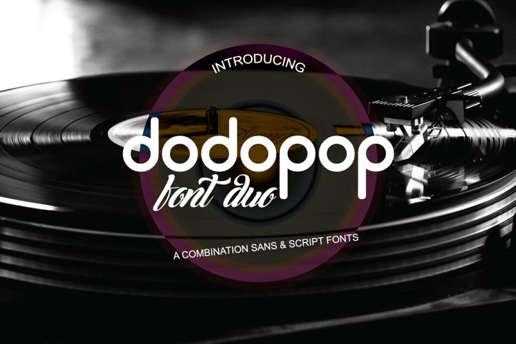 Dodopop Font