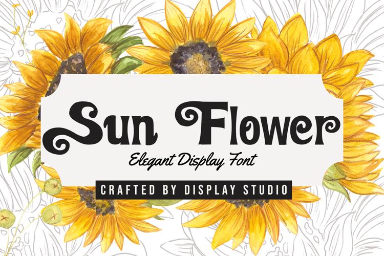 Sun Flower Font