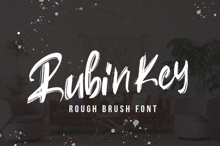 Rubin Key Font