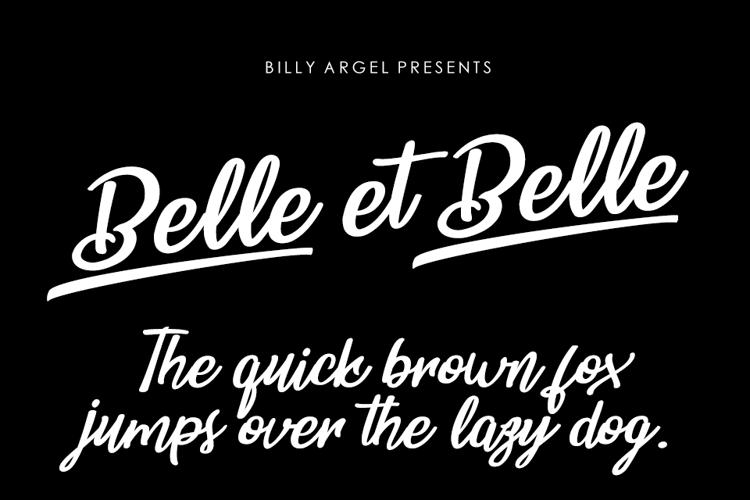 Belle et Belle Font