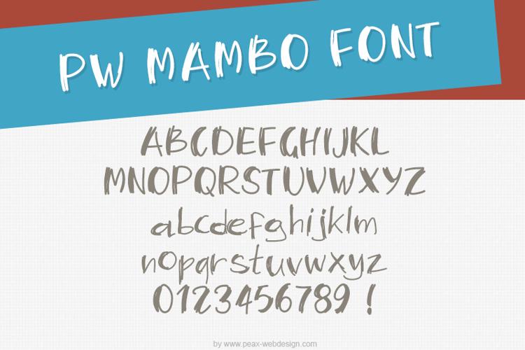 PWMambo Font