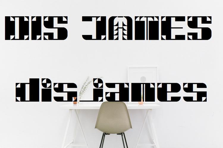 DiSJAMES Font