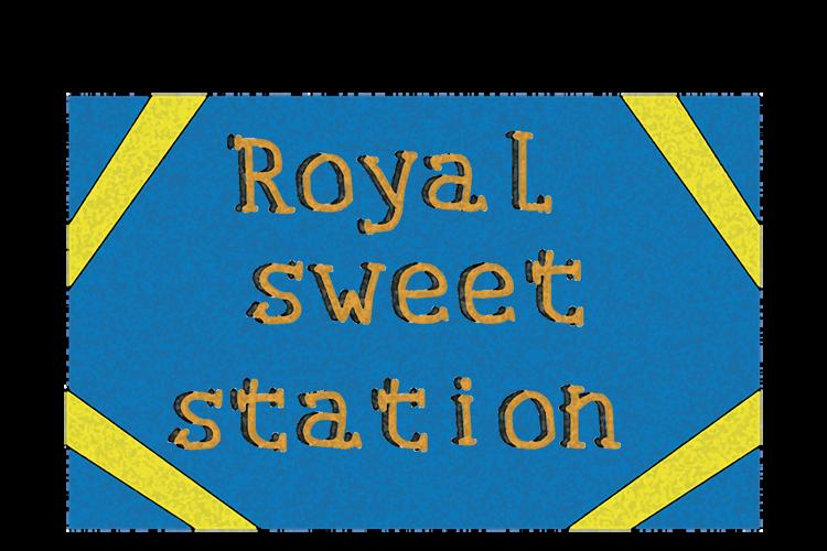 Royal sweet station Font
