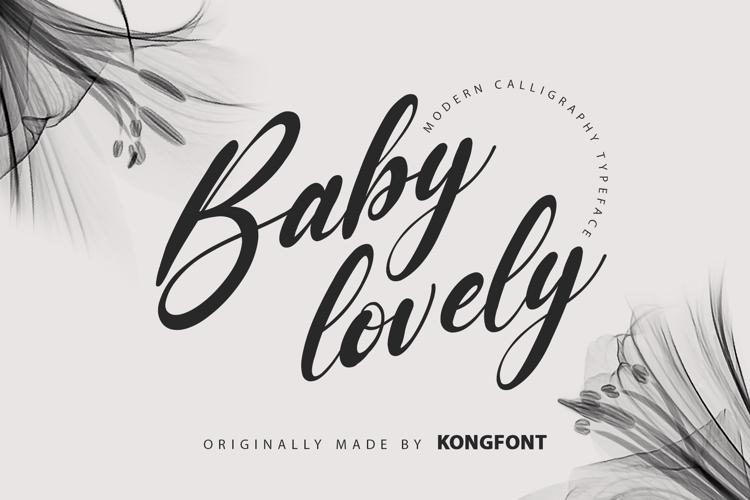 Baby Lovely Font