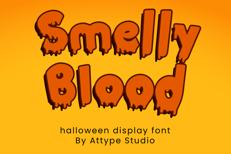 Smelly Blood Font
