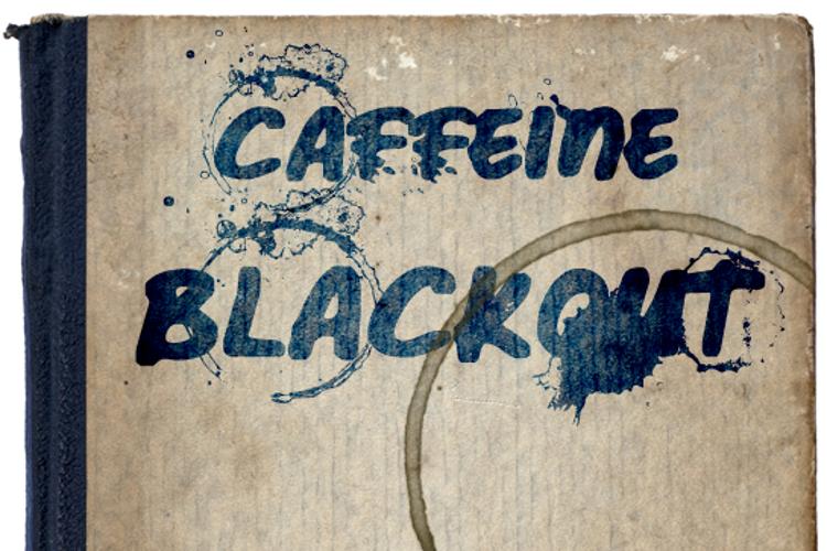 Caffeine Blackout Font
