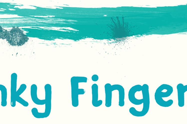 DK Inky Fingers Font