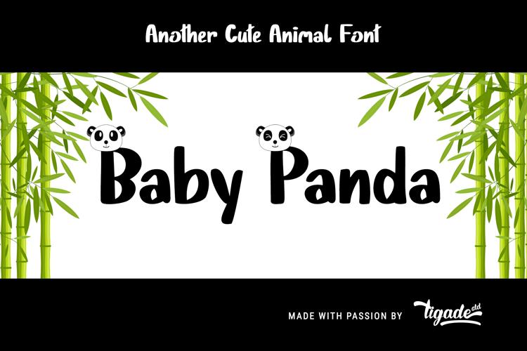 Baby Panda Font