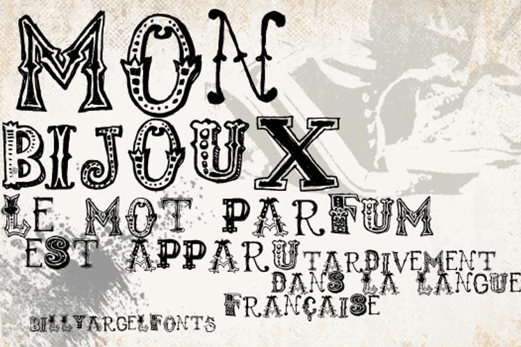 monbijoux Font