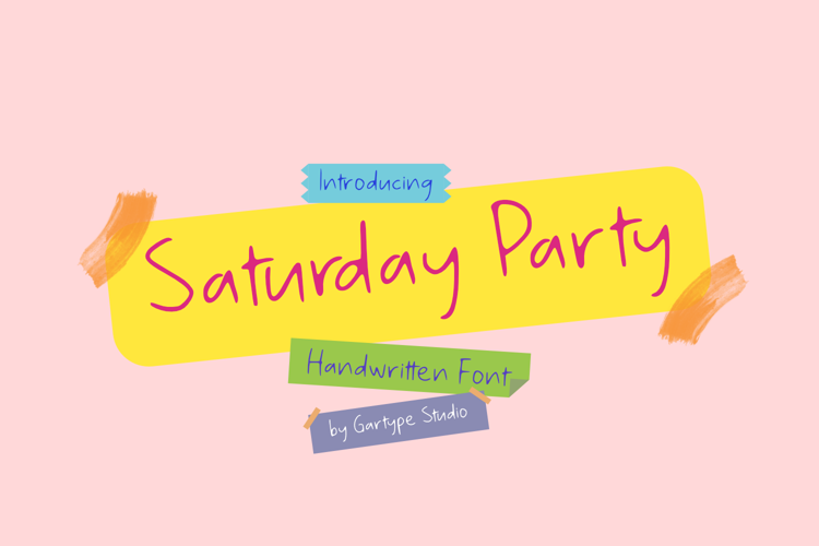 Saturday Party GT Font