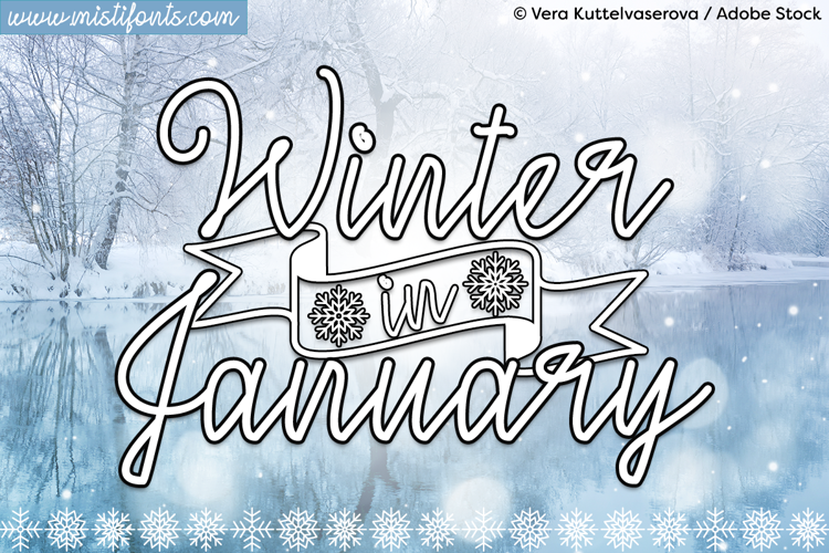 Winter in January Font