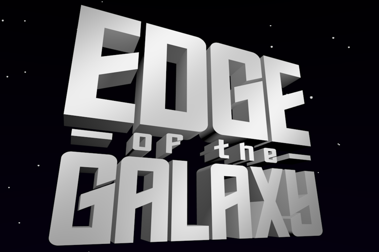 Edge of the Galaxy Font