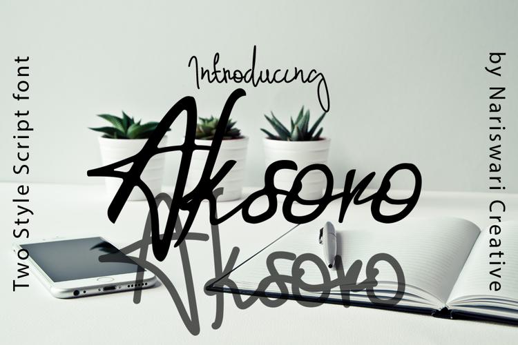 Aksoro Font