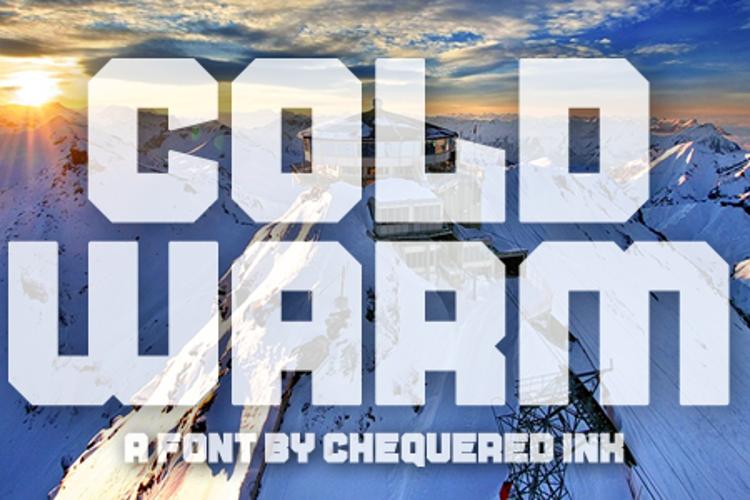 Cold Warm Font