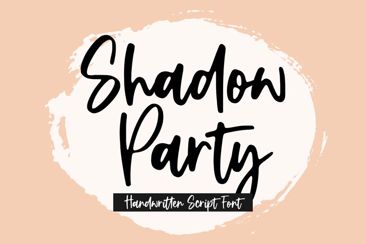 Shadow Party Font